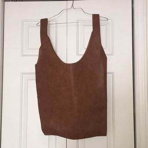 NWT Mossimo Supply Co. Faux Leather Tote Bag